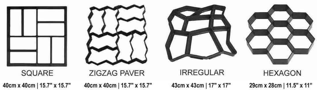 best concrete path maker mold online